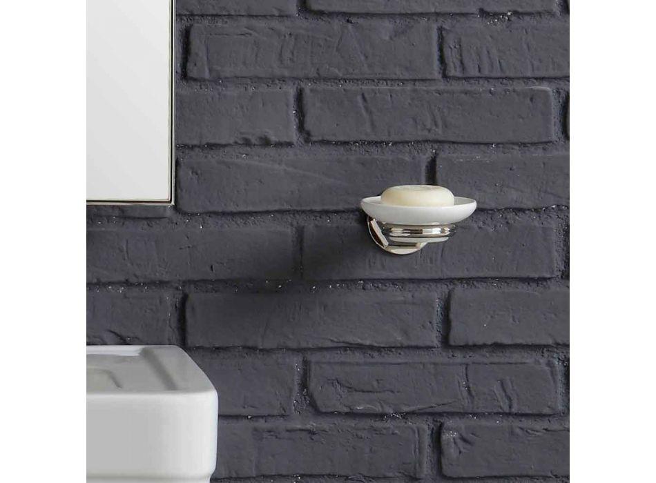 badkamermeubel samenstelling met wastafel metalen structuur Beauty