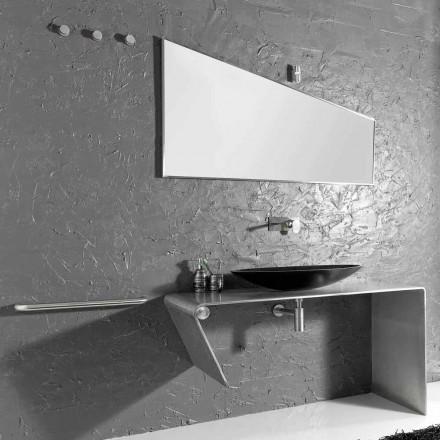 Modern aanrecht badkamermeubilair gemaakt in Luisa Italië