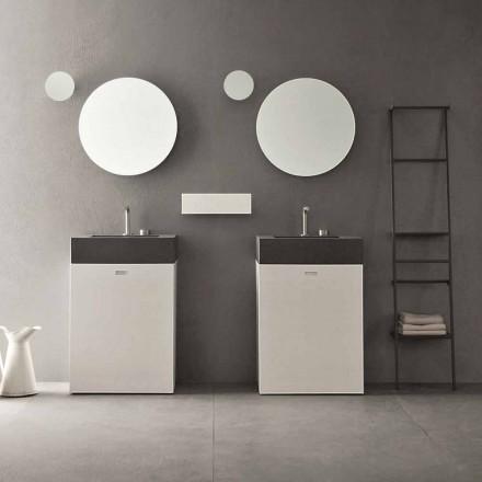 Vloersamenstelling van modern design badkamermeubels - Farart10