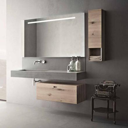 Ontwerpcompositie voor moderne hangende meubels in de badkamer Made in Italy - Farart2