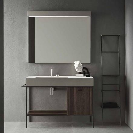 Samenstelling van handgemaakte meubels voor moderne designbadkamers op de grond - Farart3
