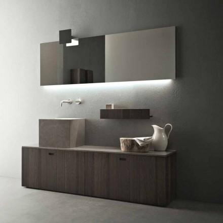 Modern design vloerstaand badkamermeubelsamenstelling - Farart1