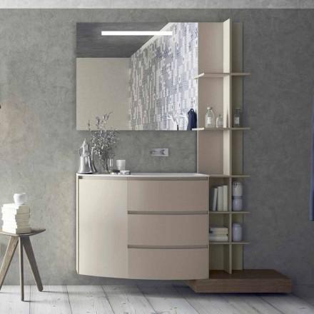 Samenstelling van meubels voor de badkamer van modern design - Callisi13