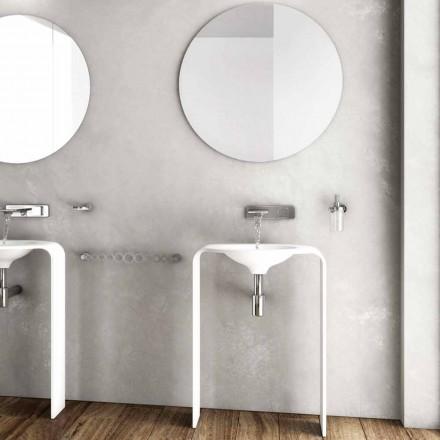 Moderne badkamervloer meubelsamenstelling gemaakt in Italië Siena