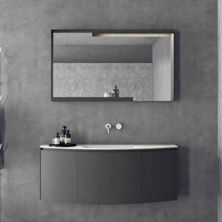 Modern design hangende badkamermeubelsamenstelling - Callisi3