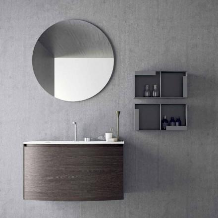Compositie voor de hangende badkamer van modern design Made in Italy - Callisi11