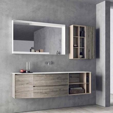 Hangende ontwerpsamenstelling, modern design badkamermeubels - Callisi5