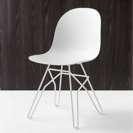 Connubia Academy Calligaris stoel modern design made in Italy, 2 stuks