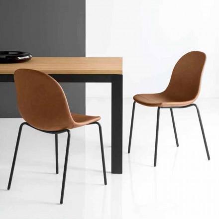 Connubia Academy Calligaris stoel vintage Italiaans design, 2 stuks