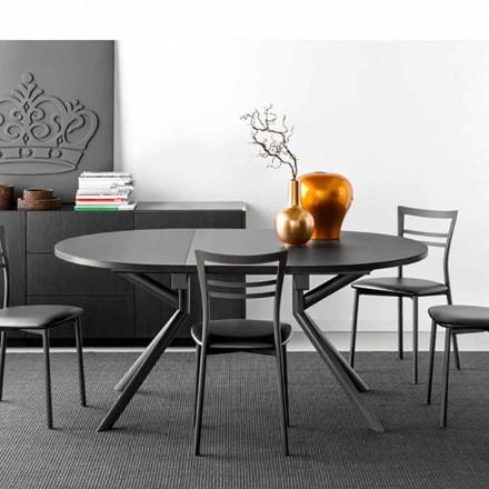 Connubia Calligaris Jupiter keramische tafel uitschuifbaar, W120 / 165 cm