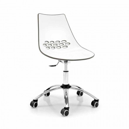 Connubia Calligaris Jam moderne bureaustoel, 2 stuks