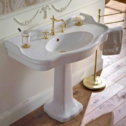 Vintage keramische badkamerconsole op Colonna, gemaakt in Italië - Paulina
