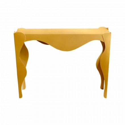 Modern design woonkamerconsole in gekleurd ijzer Made in Italy - Gertrude