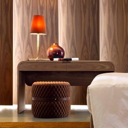 Grilli York ontwerp gemaakt in Italië massief houten console tafel