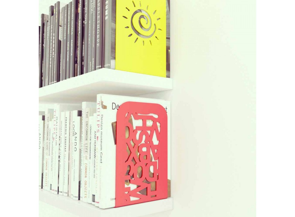 """Paar van boekensteun """"Blokko"""" Mabele"""