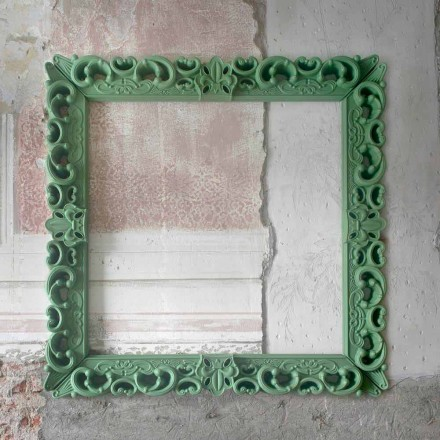 Gekleurd decoratief wandframe Slide Frame Of Love, made in Italy