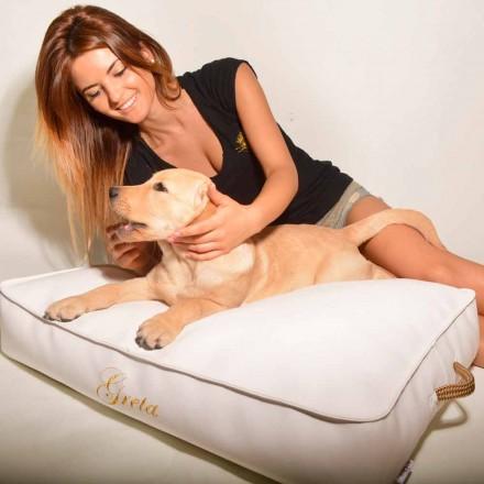 Hond kussen bedekt met imitatie lederen interieur Doggy Cloud