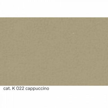 3-zitsbank in kwaliteit Made in Italy leer met gewatteerd effect - Vesuvius