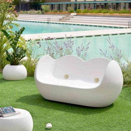 Buiten schommelbank Slide Blossy modern design gemaakt in Italië