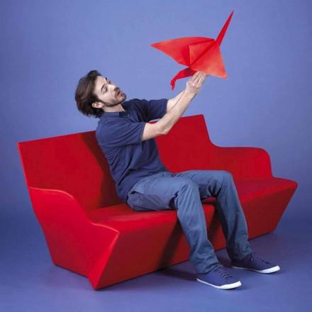 Tuinbank met armleuningen Slide Kami Yon made in Italy