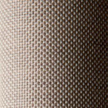 3-zits designbank in metaal en stof Made in Italy - Selia