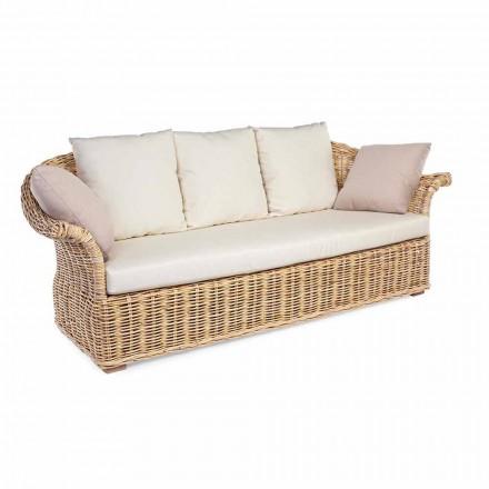 Binnen of buiten Buitenbank in etnische stijl 2 of 3 stoelen Homemotion - Fermin