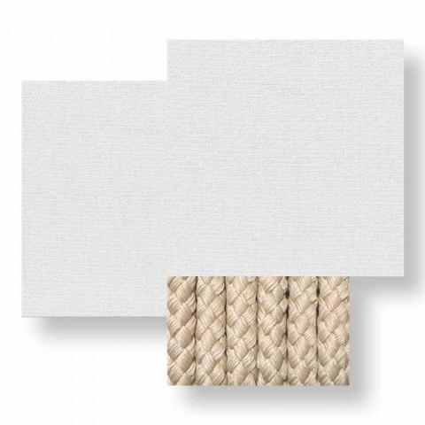 3-zits tuinbank in witte, beige of grijze stof - Cliff Decò Talenti