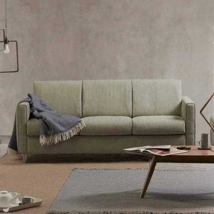 Moderne design slaapbank in stof gemaakt in Italië Filippo
