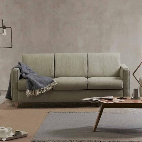 Lederen Design Slaapbank.Moderne Design Slaapbank In Stof Gemaakt In Italie Filippo
