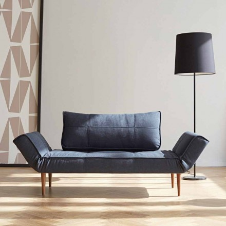 Moderne design slaapbank Zeal van Innovation in gestoffeerde stof
