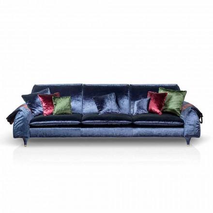 Sofa stof met lineaire portierarmsteunen Axel objecten