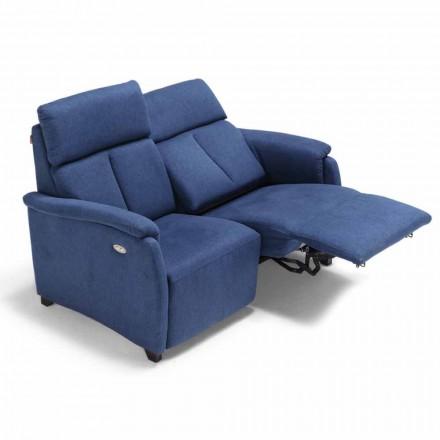 2-zitsbank Gelso, met één relaxzetel, modern design