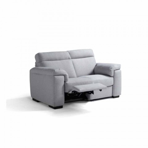 Gemotoriseerde 2-zitsbank met 1 elektrische Lilia-stoel, gemaakt in Italië