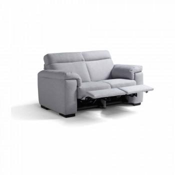 2-zits elektrische relaxbank, 2 Lilia elektrische stoelen, gemaakt in Italië
