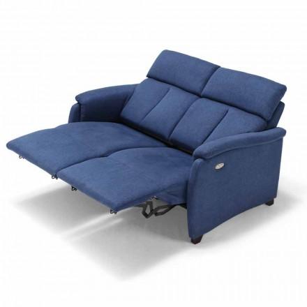 2-zitsbank Gelso, met twee fauteuils, modern design
