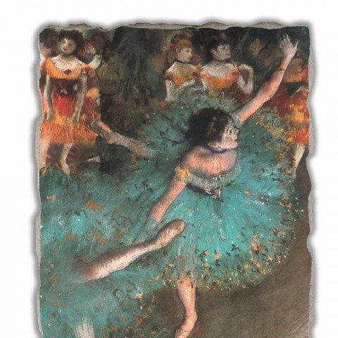 Edgar Degas Green Dancer, 1877-1879