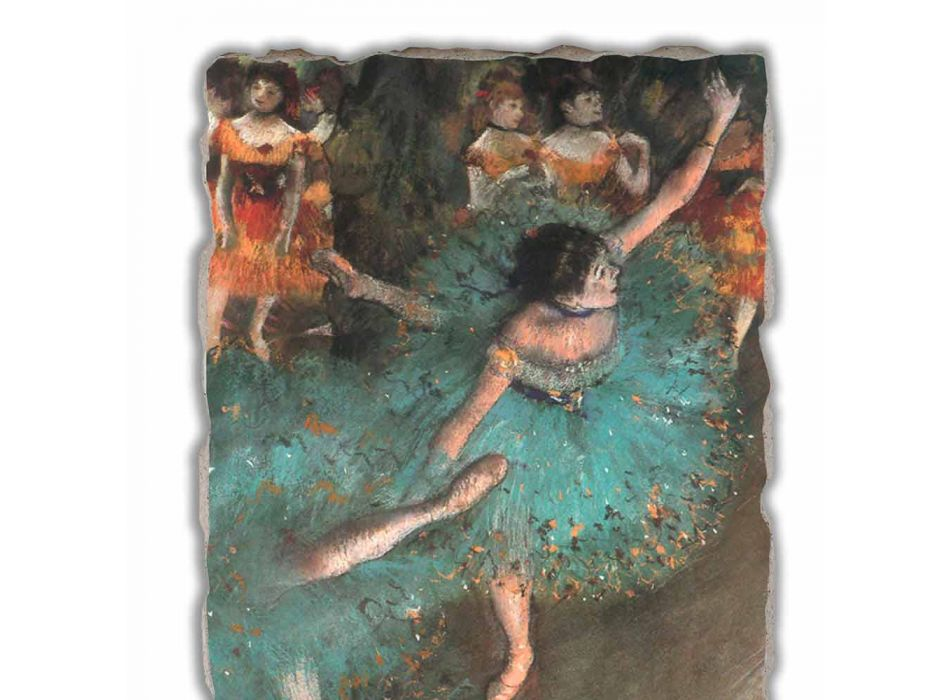 Edgar Degas Green Dancer, 1877-1879