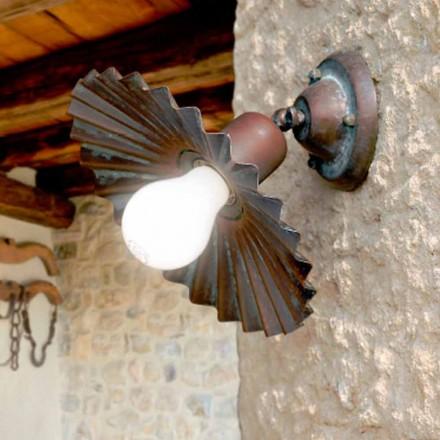 Verzonken in het plafond licht in antieke koperen Owl