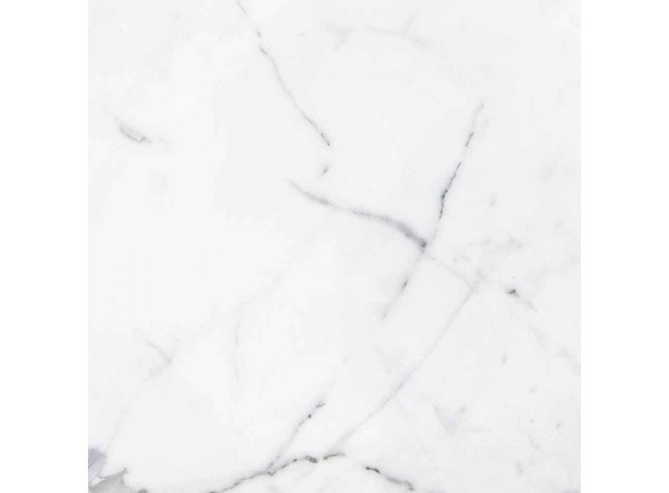 Ananas Design presse-papier in wit Carrara-marmer gemaakt in Italië - Arta