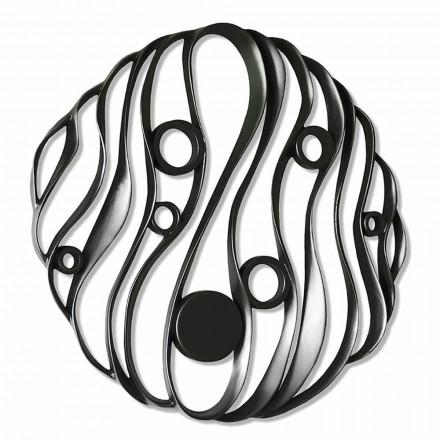Wandmontage Modern ontwerp in geperforeerd keramiek Gemaakt in Italië - Desta