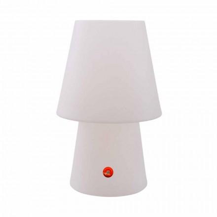 Oplaadbare LED-lamp in polyethyleen voor binnen of buiten - Fungostar