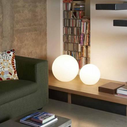 Moderne vloerlamp / tafel Slide Globo, made in Italy