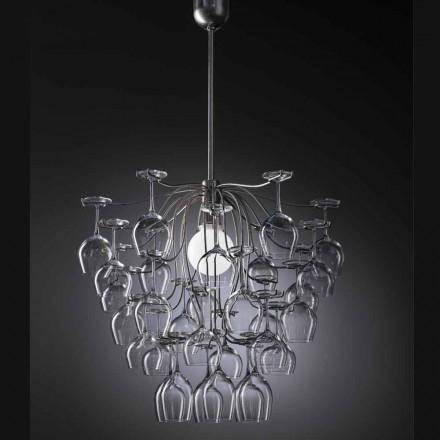Hanglamp 30 glazen vernietigde Sauvignon