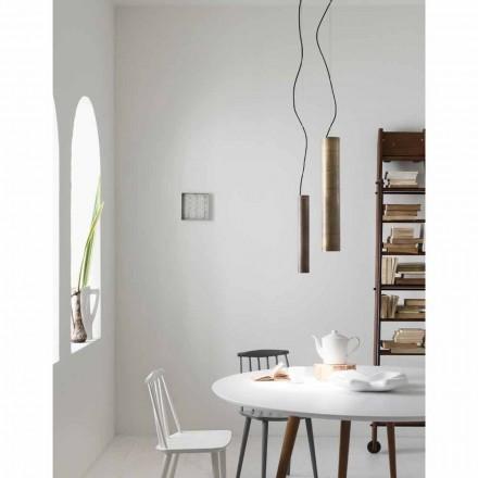 Lamp cilindrische suspensie Ø4 zonnebloemen Il Fanale
