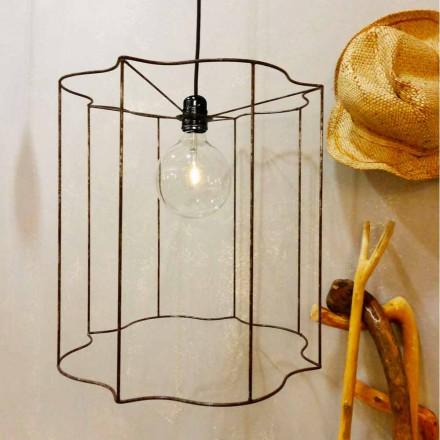 Design ophanging / vloerlamp met Cigno-kooi