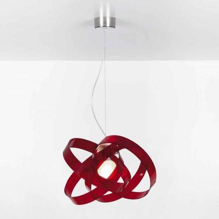 Kroonluchter modern design methacrylaat, diam.56cm Ferdi