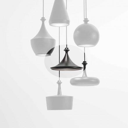 Led-hanglamp van keramiek - Lustrini L1 Aldo Bernardi