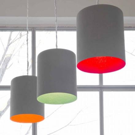 Design hanglamp In-es.artdesign Bak geverfd cement