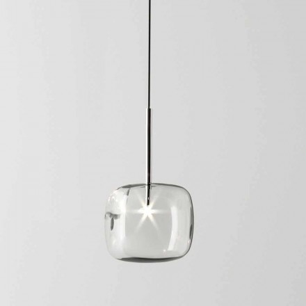 Design hanglamp van metaal en glas Made in Italy - Donatina