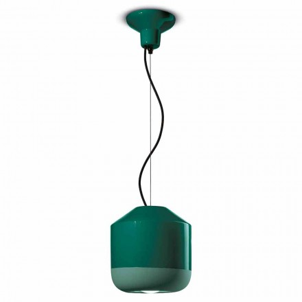 Hanglamp in gekleurd keramiek Made in Italy - Ferroluce Bellota